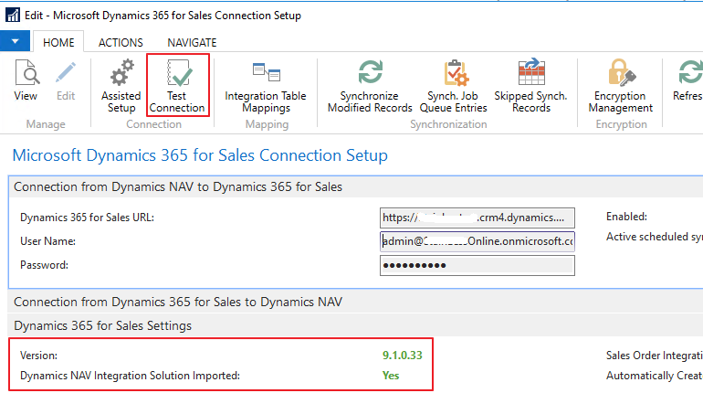 Customize Dynamics 365 CRM connector for Nav – Nav Craft